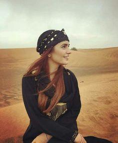 Momina Mustehsan Exploring Deserts if UAE!