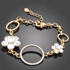 White daisy chain bracelet $40.00