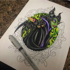 Maleficent tattoo                                                                                                                                                     More