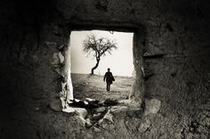 1X - Behind the Old Window by Adrian Limani