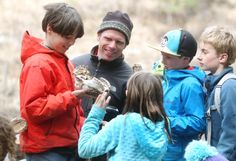 Unique program gets kids into the outdoors for unstructured play, teaching them about the outdoors and assessing risk