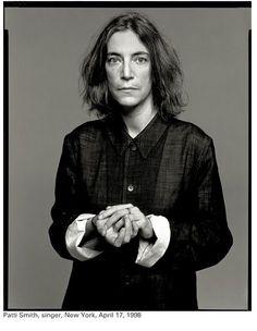 Patti Smith by Richard Avedon, 1998