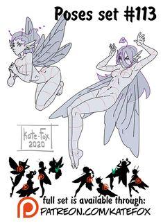 Kate Fox is creating Comics, 2D art, pose-study sets and fox-illustration | Patreon Figure Drawing Reference, Drawing Reference Poses, Base Anime, Desenhos Gravity Falls, Manga Drawing Tutorials, Fox Illustration, Poses References, Anime Drawings Sketches, Cartoon Art Styles