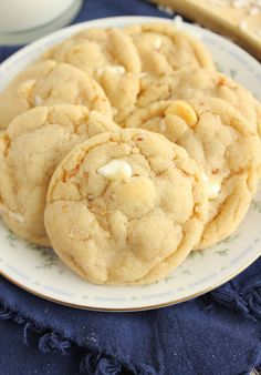 Everyone loves macademia nut cookies made from scratch with white chocolate chips.