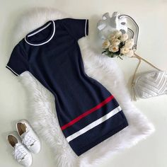 Somos Room store everything for u Teen Fashion Outfits, Edgy Outfits, Cute Casual Outfits, Outfits For Teens, Pretty Outfits, Girl Fashion, Casual Dresses, Fashion Dresses, Comfortable Outfits