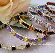 Beginner Bangle Bracelet Wire Wrap Tutorial by MyWiredImagination