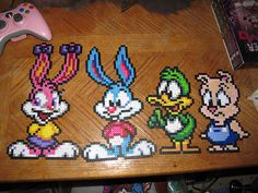 Looney tunes hama perler beads By SaturninePulchritude