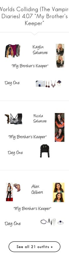 """""""Worlds Colliding (The Vampire Diaries) 4.07 """"My Brother's Keeper"""""""" by mysticfalls1997 ❤ liked on Polyvore featuring ONLY, Vivienne Westwood Anglomania, Monday, Mixit, NIKE, Topshop, Rosantica, Links of London, Miadora and Paul Andrew"""