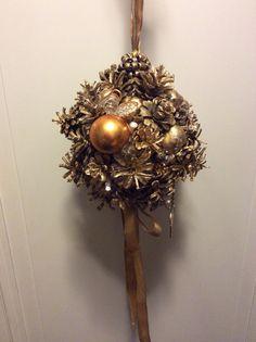 Pinecane ball for Christmas