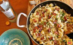 Sausage, mushroom and bacon pasta #sundaysupper — Family Foodie