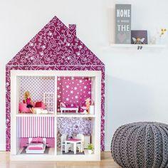 Barbie Möbel Selber Bauen   Stylischen Sessel Aus IKEA Bilderrahmen! |  Pinterest | Ikea Hack, Doll Houses And Dolls