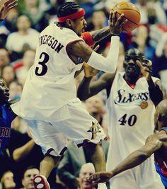 Allen Iverson Sixers!!!