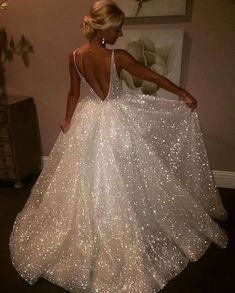 Sexy Affordable Backless V Neck A line Sparkly Long Evening Prom Dresses Prom Dresses Evening Dress Sexy Evening Dress Long Prom Dress Backless Prom Dress A-Line Prom Dresses 2019 Backless Prom Dresses, Sexy Dresses, Dress Prom, Party Dress, Sparkly Prom Dresses, Prom Gowns, Quinceanera Dresses, Bridesmaid Dresses, Elegant Prom Dresses