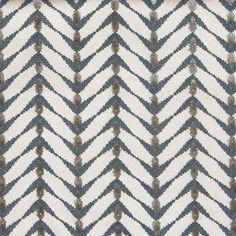 Cut Velvet: Zebrano Beige Midnight Blue by Allegra Hicks… Ecommerce, Herringbone Fabric, Furniture Upholstery, Furniture Refinishing, Property Design, Pretty Patterns, Fabulous Fabrics, Or Antique, Midnight Blue