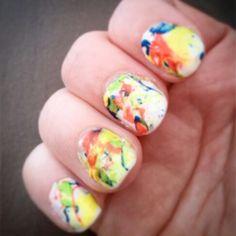 Ungles graffiti #nails