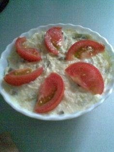 Salata de cartofi din categoria Aperitive. Cum sa faci Salata de cartofi Romanian Food, Food Staples, Food And Drink, Pudding, Desserts, Knits, Salads, Flan, Postres