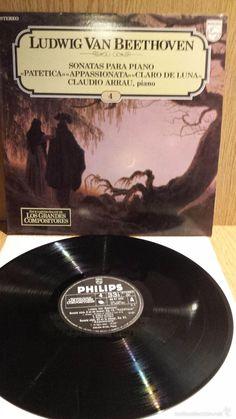 L.V.BEETHOVEN. GRANDES COMPOSITORES Nº 4. LP / PHILIPS ***/***
