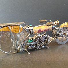 Steampunk Motorcycle, Motorcycle Art, Alex And Ani Charms, Bracelets, Jewelry, Motorcycles, Jewlery, Jewerly, Schmuck