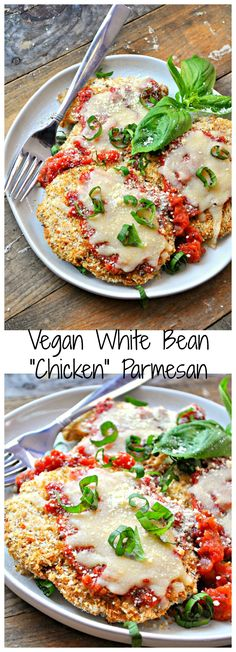 This vegan white bean cutlet!