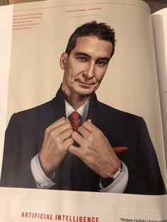 Nice photo by Olaf Blecker in Wired Dec Like the emphasis on the hands - more interesting than just a corporate suit shot. Aston University, Olaf, Inspire Me, More Fun, Cool Photos, Suit, Hands, Magazine, Nice