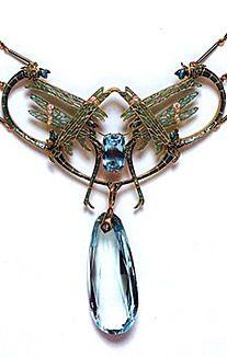 Lalique 1902-04 'Damselflies' Necklace