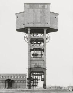 steroge:  Bernd & Hilla Becher Mine Head, Siege De Folschwiller [i.e. Folschviller], 1987