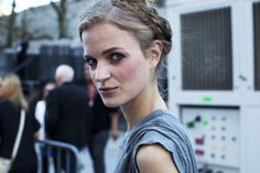 BEAUTY STREET STYLE:New York Fashion Week, Day Two | Clarins Beauty Flash Blog
