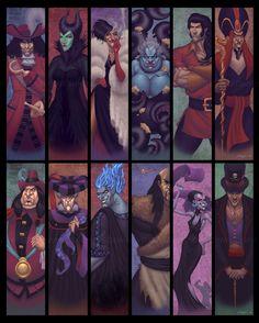 Les méchants de Disney