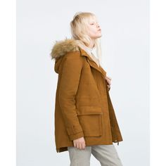 Discover the new ZARA collection online. The latest trends for Woman, Man, Kids and next season's ad campaigns. Hooded Parka, Parka Coat, Zara Parka, Zara United Kingdom, Stylish Coat, Outerwear Women, Street Wear, Raincoat, Bomber Jacket