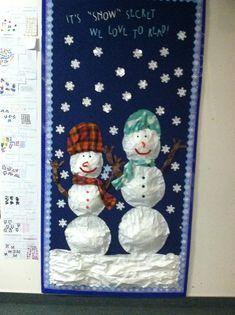 Snow Secret We Love To Read 3D Bulletin Board