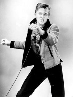 Billy Fury -- saw him when I was about 13!  On the bill with the Beach Boys