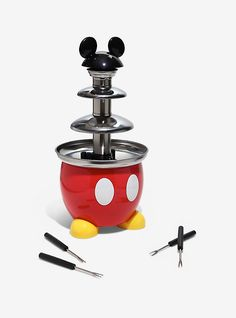 Disney Mickey Mouse Chocolate Fountain,