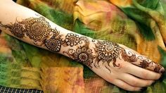 25 Awesome Arabic Mehndi Designs 2016 - SheIdeas