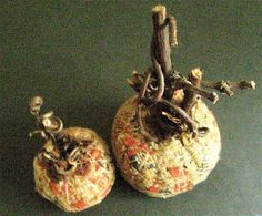 Primitive Pumpkins-Folk Art Storybook Pumpkins-Set by FolkArtWorks