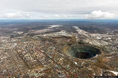 ロシア ミール鉱山 Mir mine