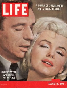 life magazine 1959 covers | LIFE Magazine, August 15, 1960. Marilyn Monroe, photographed by John ...