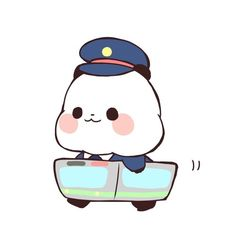 Image about cute in Yururin Panda🐼 by vivian ♪ Panda Wallpapers, Cute Wallpapers, Baby Hamster, Cute Panda Wallpaper, Panda Art, Molang, Panda Love, Kawaii Stickers, Cute Gif