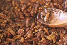 spiced nut bark