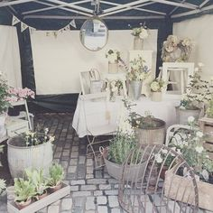 My little stall today!! Let's hope the sun shines  #Staffordshire #market #vintage #antique #Leek