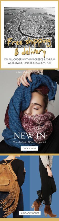 BSB Fashion Newsletter F/W 15/16- Free Shipping & NEW IN  Shop online >> www.bsbfashion.com