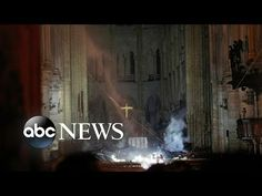 One year after the world watched the Cathedral of Notre-Dame de Paris burn, the Archbishop of Paris will display the relic of Christ's crown of thorns for veneration during a Good Friday broadcast Holy Monday, Parvis, Crown Of Thorns, Historical Artifacts, Holy Week, One Image, Gothic Architecture, Firefighter, Restoration