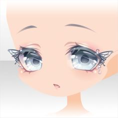 Anime Chibi, Kawaii Anime, Cute Eyes Drawing, Chibi Eyes, Anime Faces Expressions, Drawing Sketches, Drawings, Poses References, Estilo Anime