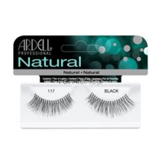 Ardell Natural 117  - Color Black - Strip Natural Style Eyelashes