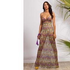 """173 """"Μου αρέσει!"""", 5 σχόλια - C-THROU (@cthrou) στο Instagram: """"C-THROU Summer Resort 2017 Boustier Crochet Knit Maxi Dress #CTHROU #CTHROUaddict…"""" Resort 2017, Ready To Wear, Clothes For Women, Luxury, Summer, How To Wear, Shopping, Website, Collection"""