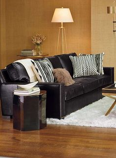 Create an inviting seating area in your home with the Sawyer Sofa that offers a perfect combination of style and comfort.