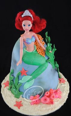 Someone make this Ariel Cake for me PLEASE!