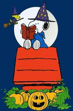 Snoopy & Woodstock Happy Halloween