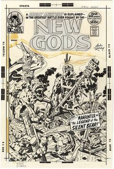The New Gods, Issue 7,