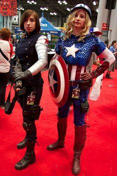 Captain America & Winter Soldier | NYCC 2013