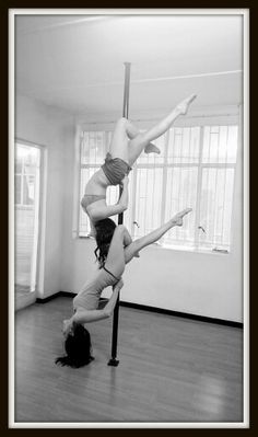 Friendship lean back pole fitness